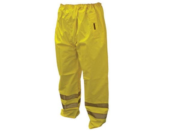 Hi-Vis Yellow Motorway Trousers - XXL (48in)
