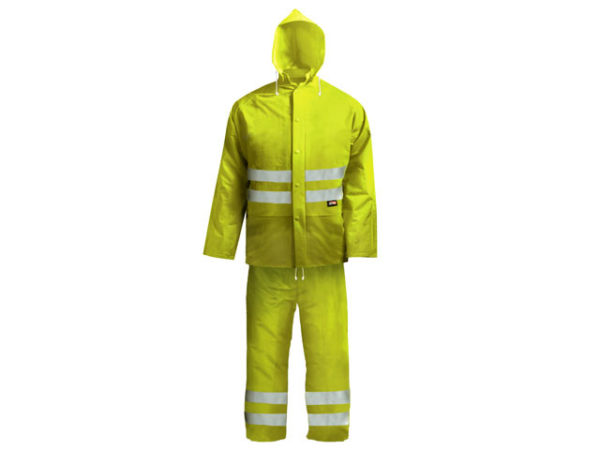Hi-Visibility Rain Suit Yellow - XXL (45-49in)