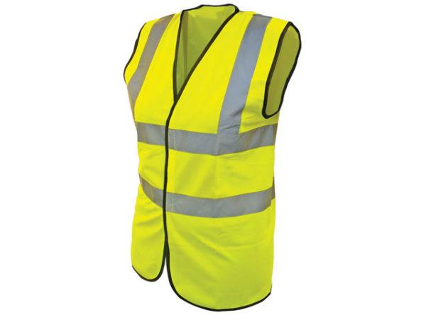 Hi-Vis Yellow Waistcoat - Child 7-9 (32in)