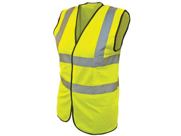 Hi-Vis Yellow Waistcoat - Child 10-13 (35in)