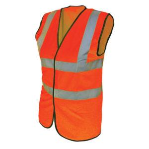 Hi-Vis Orange Waistcoat - XL (48in)