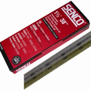 Chisel Smooth Brad Nails Galvanised 15G x 38mm Pack of 4000
