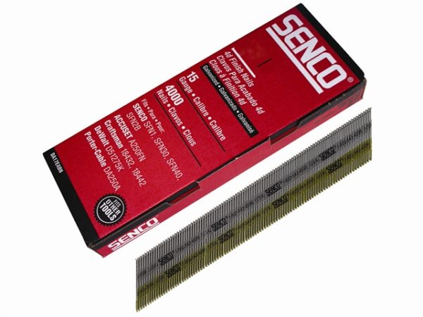 Chisel Smooth Brad Nails Galvanised 15G x 55mm Pack of 4000