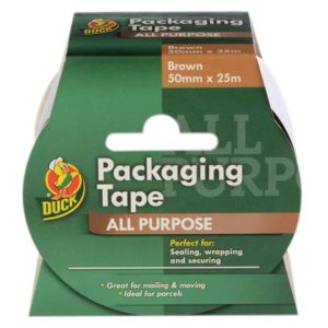 Duck Tape® Packaging Tape Brown 50mm x 25m
