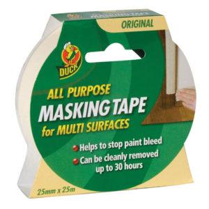 Duck Tape® All-Purpose Masking Tape 25mm x 25m