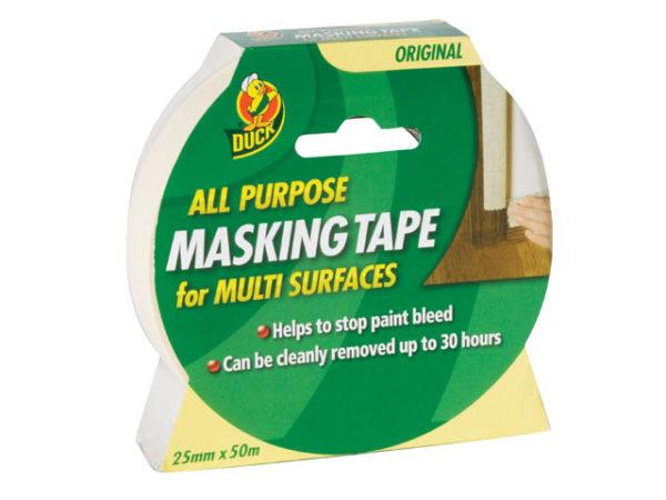 Duck Tape® All-Purpose Masking Tape 25mm x 50m