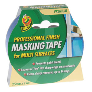 Duck Tape® Pro Masking Tape 25mm x 25m