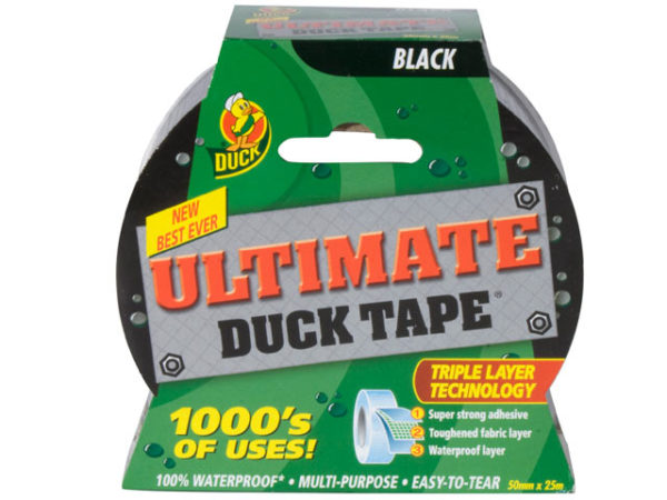 Duck Tape® Ultimate 50mm x 25m Black