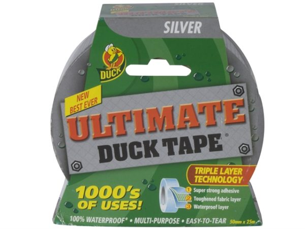 Duck Tape® Ultimate 50mm x 25m Silver