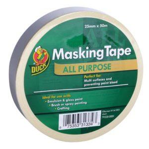Duck Trade All Purpose Masking Tape 25mm x 50m