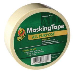 Duck Trade All Purpose Masking Tape 38mm x 50m