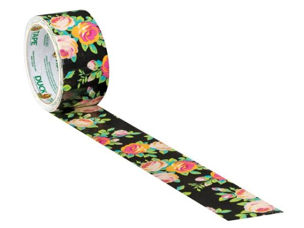 Duck Tape® 48mm x 9.1m Neon Floral