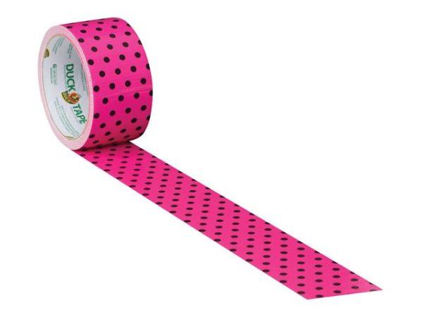 Duck Tape® 48mm x 9.1m Polka Dot