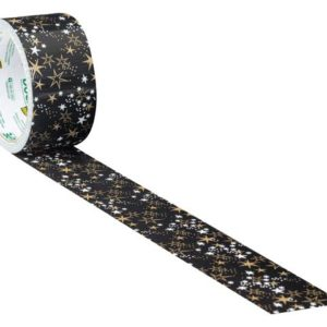 Duck Tape® 48mm x 9.1m Metallic Stars