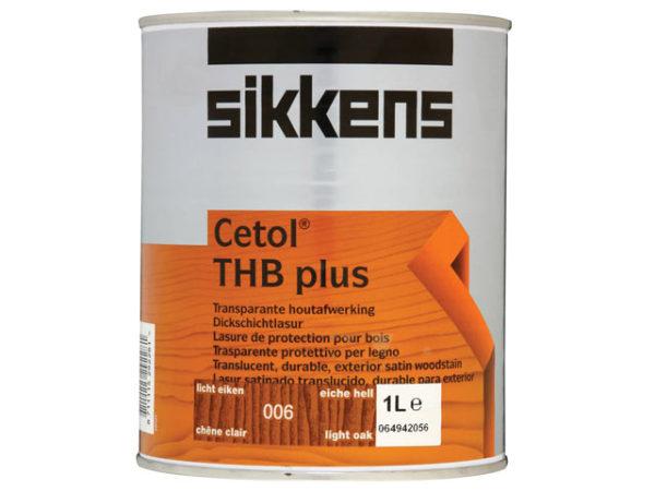 Cetol THB Plus Translucent Woodstain Light Oak 1 litre