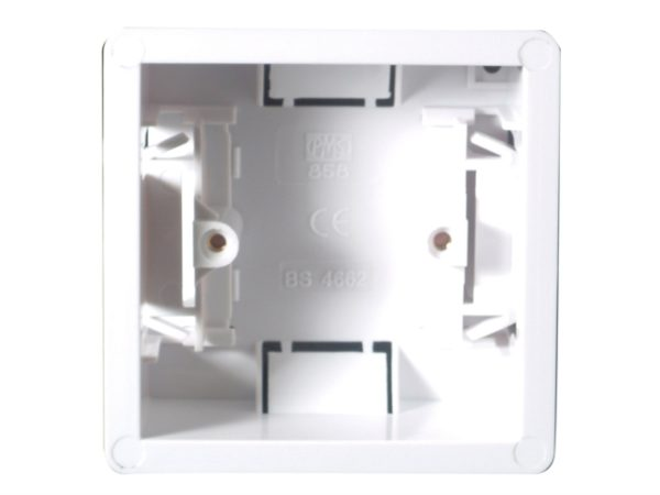 Dry Lining Box Single 35mm with Eurohook
