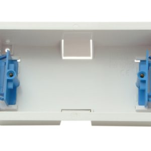 Dry Lining Box Double 35mm With Eurohook