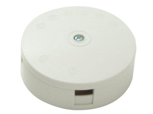 White 5A 4-Terminal Junction Box