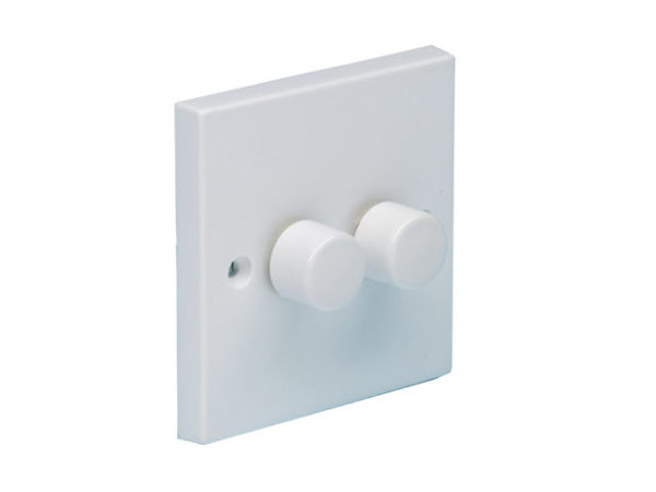 2 Way Dimmer Switch 400W 2 Gang