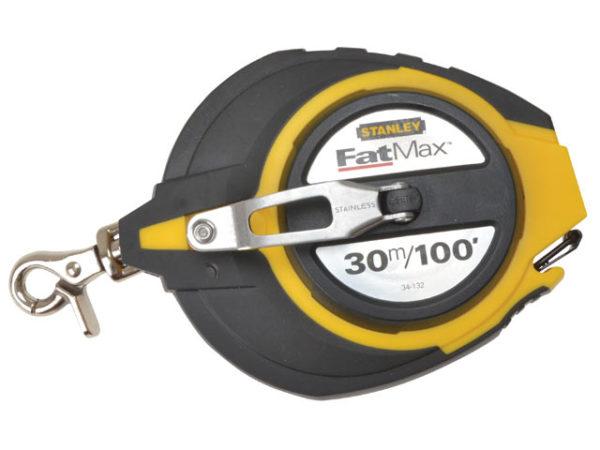FatMax® Closed Case Steel Long Tape 30m (Width 10mm)