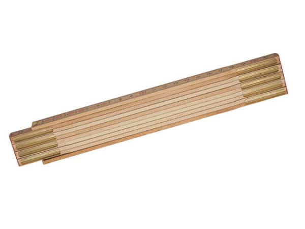 Wooden Folding Rule 2m