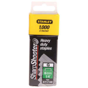 TRA709T Heavy-Duty Staples 14mm Pack 1000