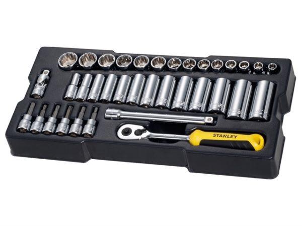 3/8in Drive Metric Socket Module 36 Piece