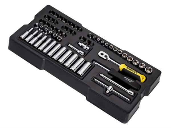 Transmodule System 1/4in Drive Metric Socket Set 60 Piece
