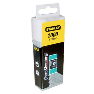 Flat Narrow Crown Staples 10mm CT306T Pack 1000
