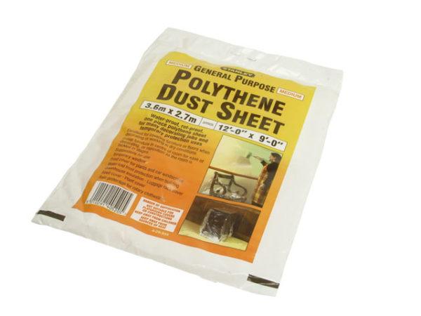 Polythene Dust Sheet 3.6 x 2.7m