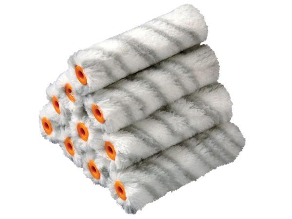 Medium Pile Silver Stripe Sleeve 100mm (4in) 10 Pack