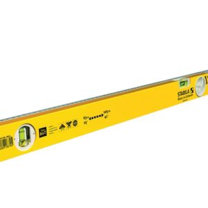 80T Telescopic Spirit Level 2 Vials 63-105cm