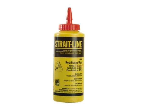 Chalk Refill Red 227g (8oz)