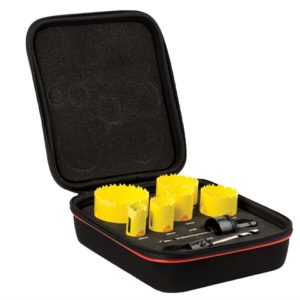KDC06021 Deep Cut Bi-Metal General Purpose Holesaw Kit 8 Piece