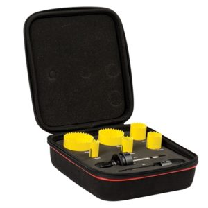KFC06022 Bi-Metal Fast Cut Electrician's Holesaw Kit