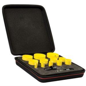KFC12021 Bi-Metal Fast Cut Plumber's & Electrician's Holesaw Kit