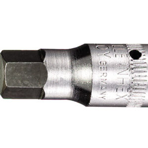 In-Hex Socket 1/4in Drive Short 6mm