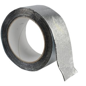 Aluminium Finish Waterproofing Tape 50mm x 4m Roll