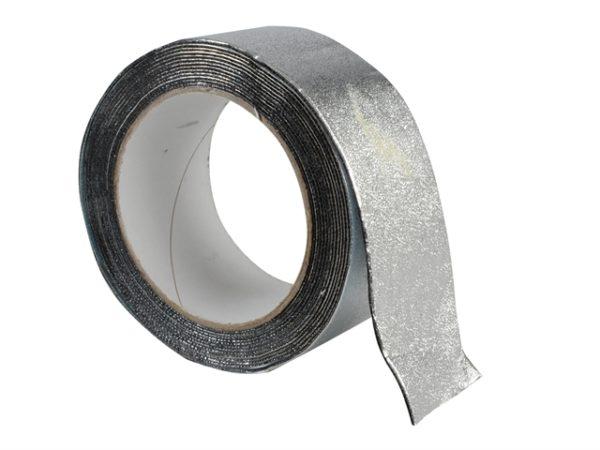 Aluminium Finish Waterproofing Tape 50mm x 4m Roll