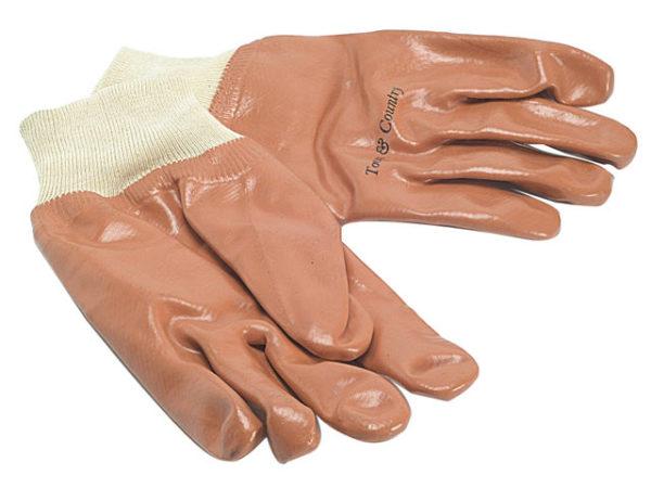 TGL402 Men's PVC Knit Wrist Gloves