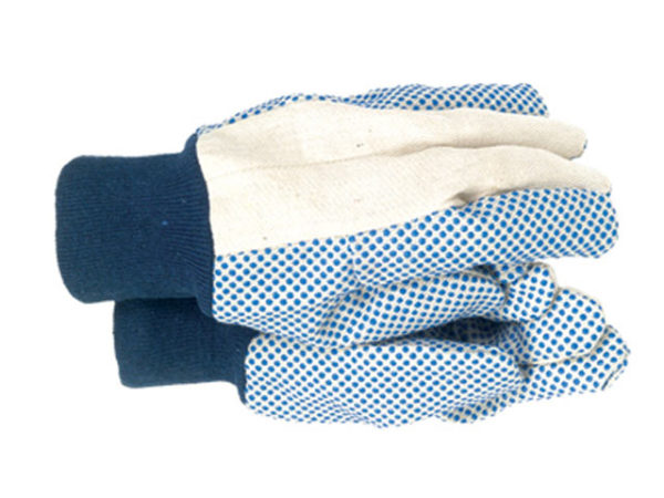 TGL404 Men's Dotted Canvas Gloves