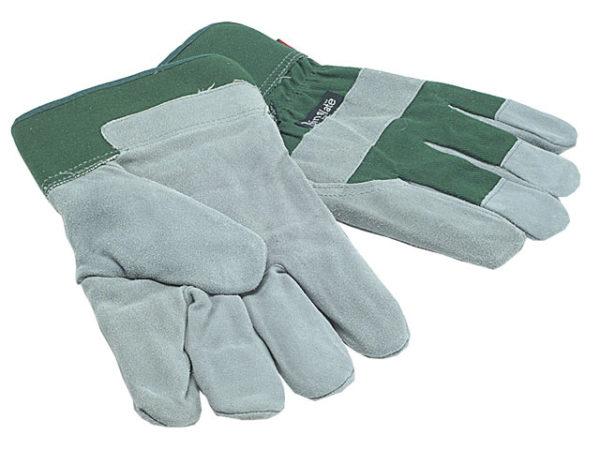 TGL412 Men's Fleece Lined Leather Palm Gloves