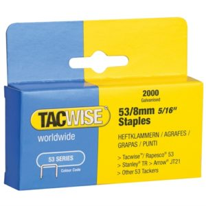 53 Light-Duty Staples 8mm (Type JT21 A) Pack 2000