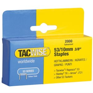 53 Light-Duty Staples 10mm (Type JT21 A) Pack 2000