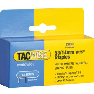 53 Light-Duty Staples 14mm (Type JT21 A) Pack 2000