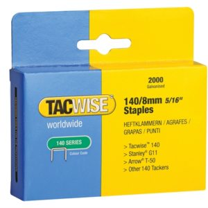 140 Heavy-Duty Staples 8mm (Type T50 G) Pack 2000