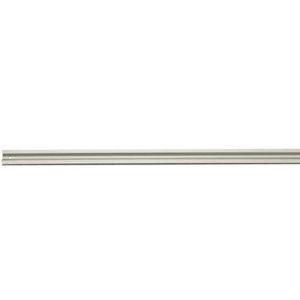 ALU1000 100cm Single Track Socket Clip Rail