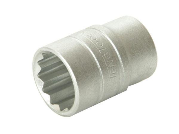 Bi-Hexagon Socket 12 Point Regular A/F 1/2in Drive 3/8in