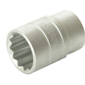 Bi-Hexagon Socket 12 Point Regular A/F 1/2in Drive 5/8in