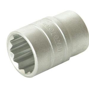 Bi-Hexagon Socket 12 Point Regular A/F 1/2in Drive 3/4in